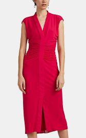 Ruched Jersey Midi-Dress at Barneys