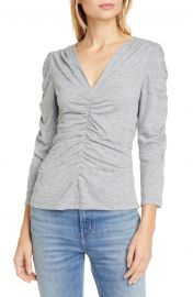 Ruched Jersey Top at Nordstrom