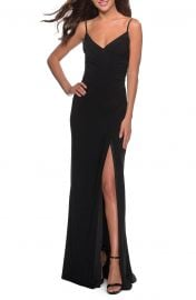Ruched Jersey Trumpet Gown at Nordstrom