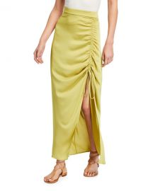Ruched Maxi Skirt by Bcbgmaxazria at Last Call
