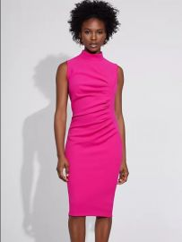 Ruched Sheath Dress - Gabrielle Union Collection at NY&C