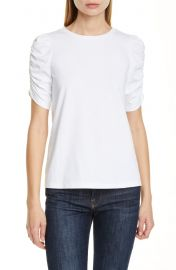 Ruched sleeve tee by kate spade at Nordstrom
