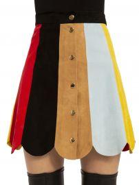 Rudie Suede Skirt by Alice + Olivia at Alice + Olivia