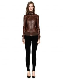 Rudsak Tisha Leather Jacket at Rudsak