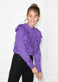 Ruffle Blouse at & Other Stories