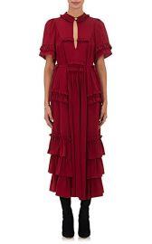 Ruffle-Embellished Silk Maxi Dress at Barneys