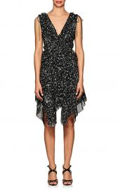 Ruffle Floral Silk Dress  Derek Lam 10 Crosby at Barneys