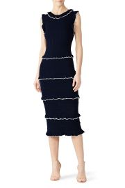 Ruffle Trim Sheath Dress by Alexia Admor at Rent the Runway