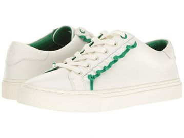 Ruffle sneaker by Tory Sport at Zappos