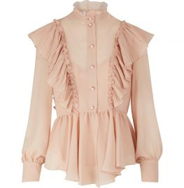 Ruffled Blouse at 24s