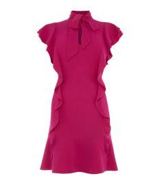 Ruffled Mini Dress at Karen Millen