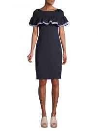 Ruffled Sheath Dress by Eliza J at Lord & Taylor