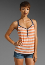 Rugby striped cami by Splendid at Revolve