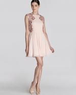 Russi Mesh Beaded dress by Ted Baker at Bloomingdales