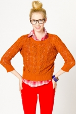 Rust sweater like Mouses at A-Thread