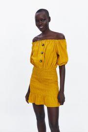 Rustic Dress by Zara at Zara
