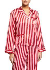 Ruthie Stripe Pajama Top at Bergdorfgoodman