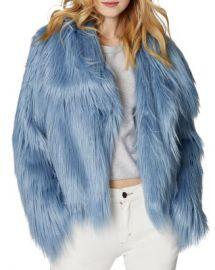 SAGE Collective Glacier Faux Fur Jacket Women - Bloomingdale s at Bloomingdales