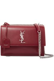 SAINT LAURENT - Sunset medium leather shoulder bag at Net A Porter