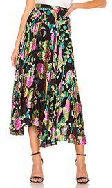 SALONI Ida B Skirt in Hydrangea from Revolve com at Revolve
