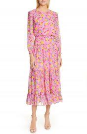 SALONI Isabel Fil Coup   Silk Blend Midi Dress   Nordstrom at Nordstrom
