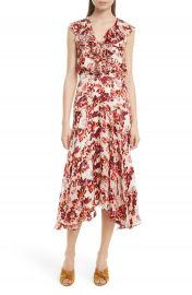 SALONI Rita Ruffle Dress at Nordstrom