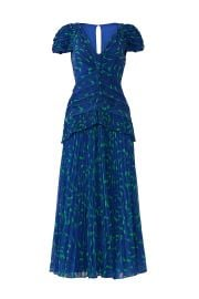SELF-PORTRAIT PRINTED CRESCENT DRESS at Rent The Runway