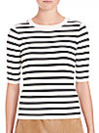 SET - Striped Knit Top at Saks Off 5th