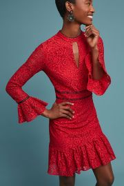 SHOSHANNA KENSINGTON LACE DRESS at Anthropologie