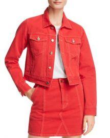 SJYP Denim Jacket Women - Bloomingdale s at Bloomingdales