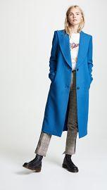 SMYTHE Peaked Lapel Coat at Shopbop