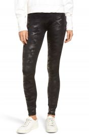 SPANX   Camo Faux Leather Leggings   Nordstrom at Nordstrom
