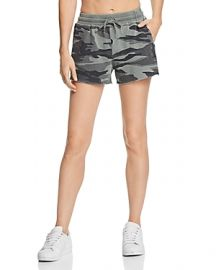SPLENDID CAMO DRAWSTRING SHORTS at Bloomingdales
