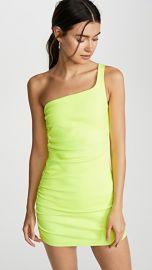 SPRWMN Shirred One Shoulder Dress at Shopbop