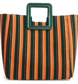 STAUD Shirley Stripe Terry Satchel  Nordstrom Exclusive Color    Nordstrom at Nordstrom