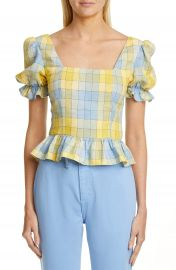 STAUD Dock Check Top   Nordstrom at Nordstrom