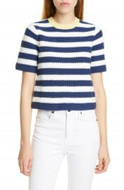 STAUD Esther Stripe Sweater   Nordstrom at Nordstrom