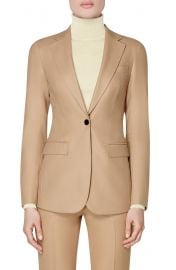 SUISTUDIO Cameron Single Breasted Wool Blazer   Nordstrom at Nordstrom