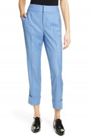 SUISTUDIO Lane Cuffed Crop Pants   Nordstrom at Nordstrom