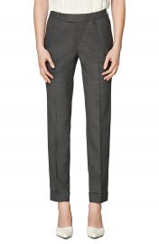 SUISTUDIO Robin Cuff Wool Trousers   Nordstrom at Nordstrom