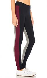 SUNDRY Colorblock Legging in Berry  amp  Midnight from Revolve com at Revolve