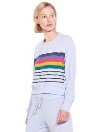 SUNDRY Womens Crop Blouson Sweatshirt at Amazon