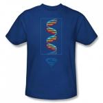 SUPERMAN Science Royal Blue Shirt at Comic Center