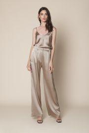 Sable Silk Pants by Sablyn  at Sablyn