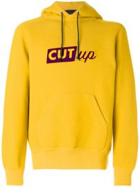 Sacai Cut-up Slogan Hoodie  600 - Buy Online - Mobile Friendly  Fast Delivery  Price at Farfetch