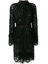 Sacai Sheer Lace Trench Coat  1 846 - Buy AW17 Online - Fast Delivery  Price at Farfetch