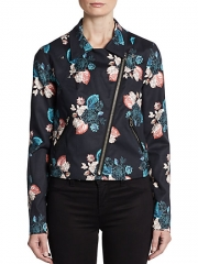 Sachin and Babi - Josefina Floral Moto Jacket at Saks Fifth Avenue