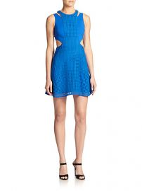 Sachin and Babi - Scape Cutout-Detail Dress at Saks Fifth Avenue