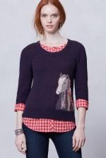 Saddleback Sweater at Anthropologie at Anthropologie