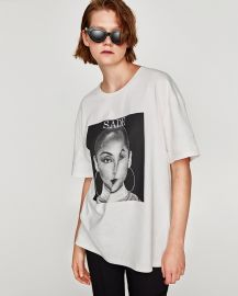 Sade Print T-Shirt by Zara at Zara
